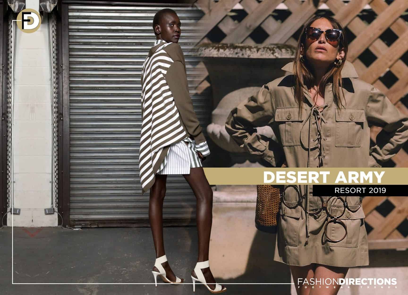 ss19 Resort 2019 trends army safari