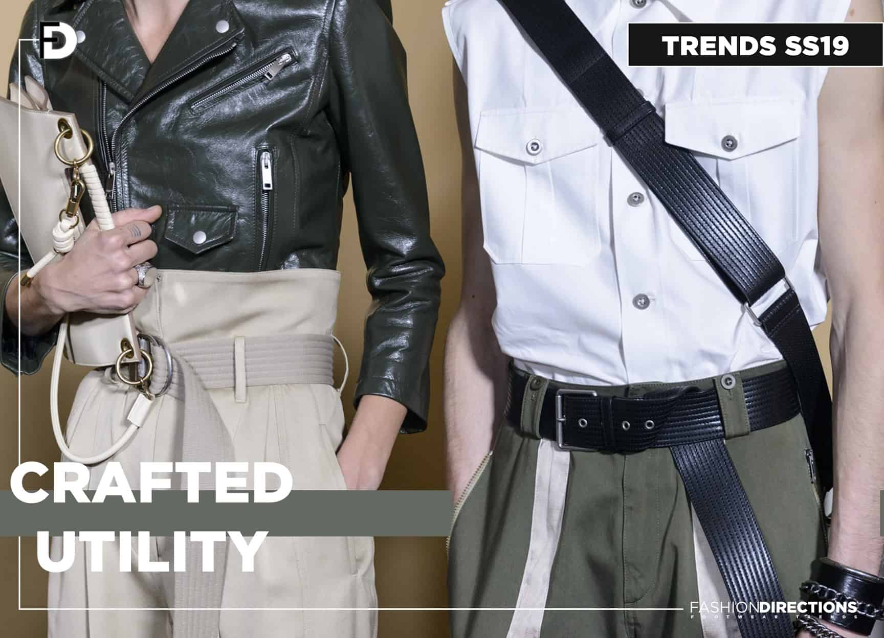 SS19 trends craft utility