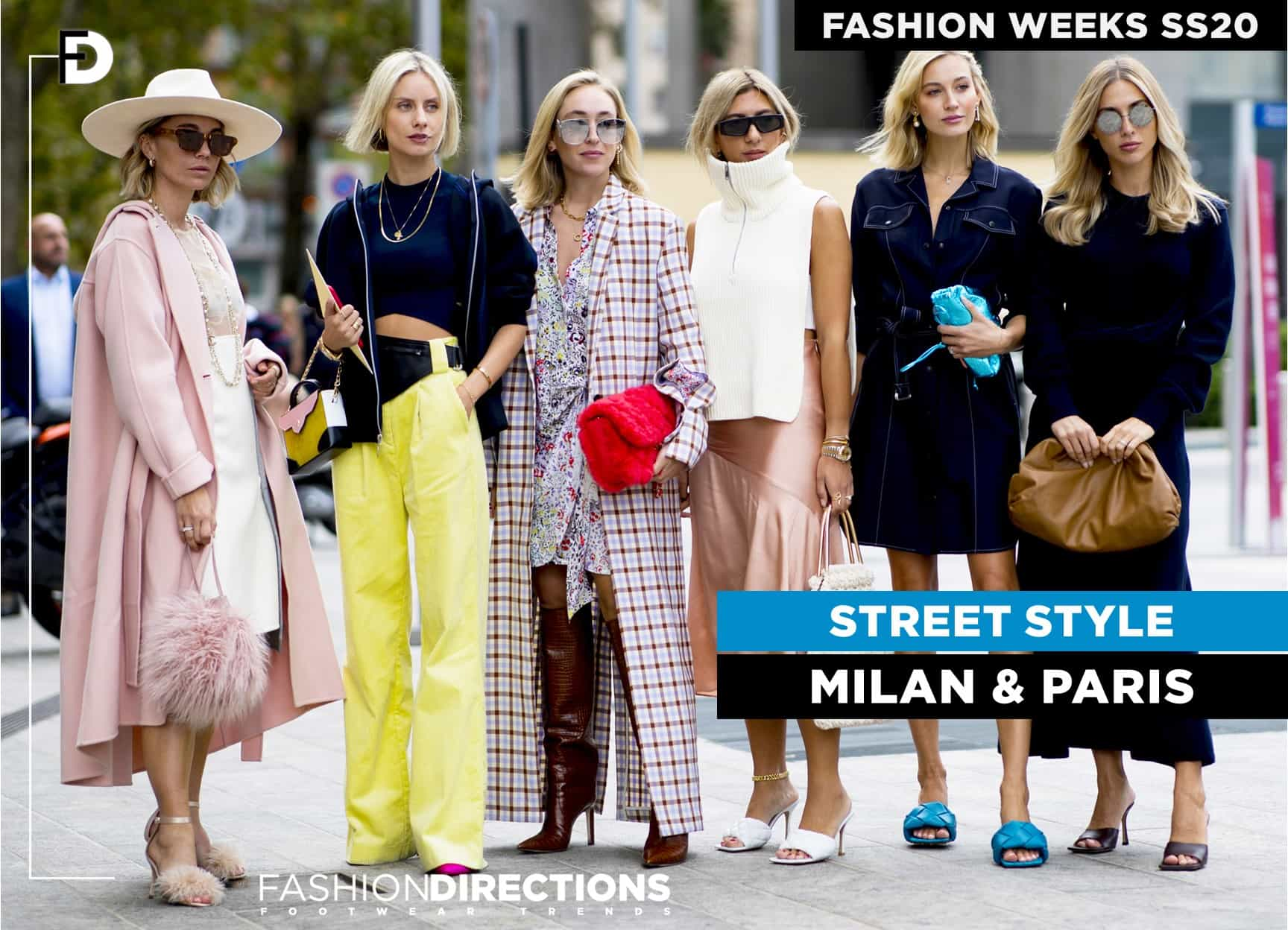 Fashion Week SS20 Street Style Milan Paris