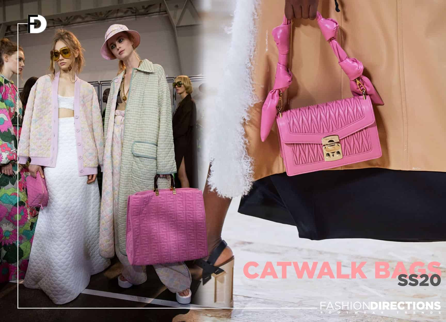 ss20 catwalk bags trends shapes 1